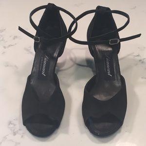 Ballroom all suede heels